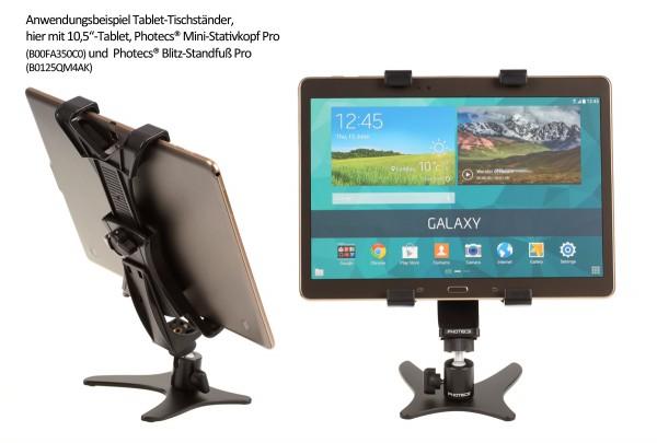 Photecs® Tablet-Ständer Pro V2-PX, vielseitig verstellbarer Tablet Tischständer