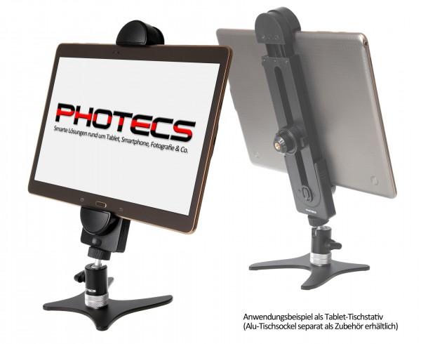 Photecs® Tablet Ständer Pro V4, verstellbares Tischstativ f. Tablet und Smartphones