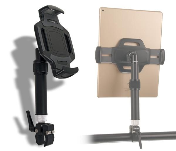 """Photecs® Tablet-Halterung Pro V5-K1, höhenverstellbar, für iPad Pro und andere Tablet-PC´s (bis 14"""")"""