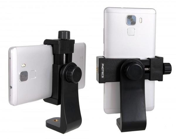 """Photecs® Smartphone Halter V3, Handy Stativ Adapter 1/4"""" (von ca. 56 bis 100 mm), Phone Halter"""