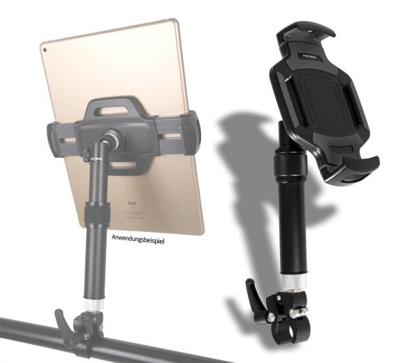 Photecs® Tablet-Halterung Pro V5-K2, höhenverstellbar, für iPad Pro und andere Tablet-PC´s