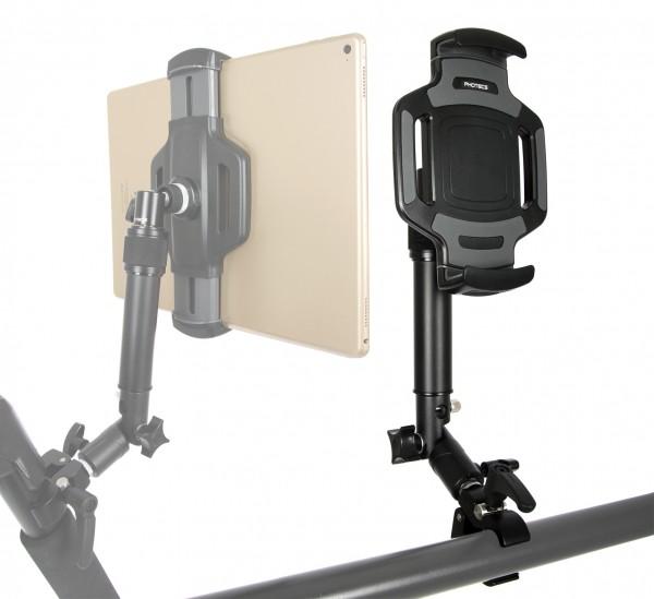 Photecs® Tablet-Halterung Pro V4-K2, höhenverstellbar, für iPad Pro und andere Tablet-PC
