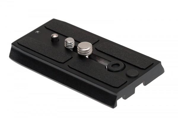 """Photecs® Schnellwechselplatte Kameraplatte mit 1/4"""" und 3/8"""" Schrauben, kompatibel zu 501 PL"""
