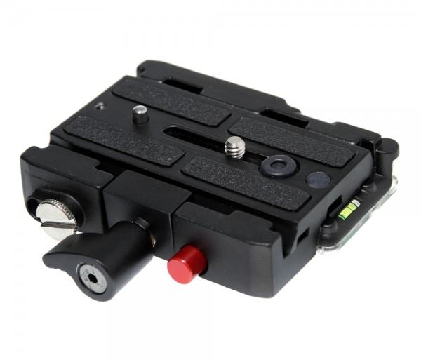 Photecs® Schnellwechsel-System Schnellwechselbasis Schnellkupplung, Kameraplatte wie 501PL
